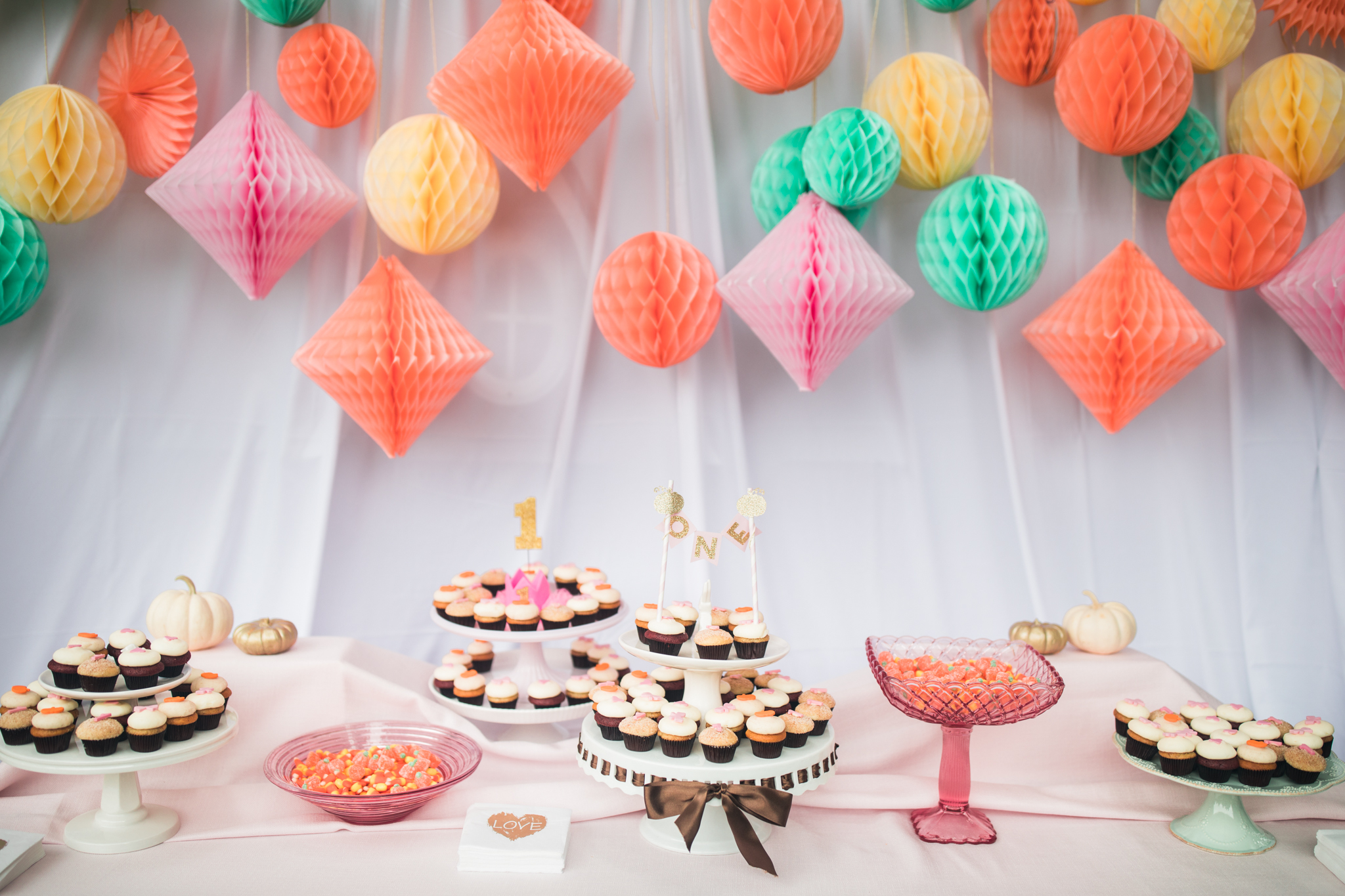 Fall First Birthday Party